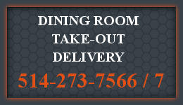 Le Roi du Smoked Meat - Dining Room Take-Out Delivery 514-273-1566